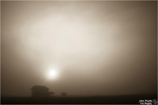 Mysterious sunrise